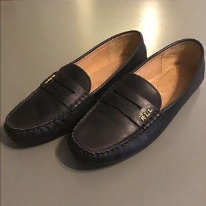 """LAUREN Ralph Lauren """"Belen"""" black loafers"""